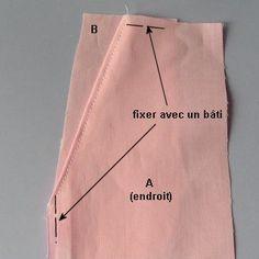 Coupe Couture : Poche de côté de jupe ou pantalon Beginner Sewing Patterns, Skirt Patterns Sewing, Sewing Basics, Sewing For Beginners, Sewing Tutorials, Techniques Couture, Sewing Techniques, Sewing Pants, Sewing Clothes
