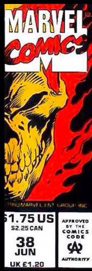Marvel corner box art - Ghost Rider