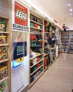 LEGO Store at Bluewater, Kent, England  Role: Concept Designer