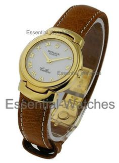 Rolex Unworn6621.8wa  Cellini Quartz Ladies 6621.8wa - Yellow Gold on Strap with White Dial CERTIFIED PREOWNED Item ID - 22083 Model # - 6621.8wa Case - 18KT Yellow Gold Case Size - 30mm Movement - Quartz Dial - White Bracelet - Brown Strap Retail Price - $8,300 Your Price - $5,125 (Wire Price - $5,000) * Pre-Owned with Box and Papers
