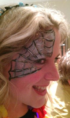 Spider Girl The Face Painting People
