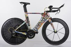 Custom painted Specialized Shiv by Kristian Von Hornsleth