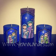 YLEANA CANDLES: Navidad                                                                                                                                                                                 Más Gel Candles, Soy Wax Candles, Pillar Candles, Velas Diy, Custom Candles, Decorative Candles, Bazaar Ideas, Candle Lamp, Candels