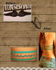 DIY bra straps for backless tops. PERFECT FOR SUMMER!