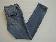 "CAbi Jeans 4 # 918 Skinny Heritage Medium Mid rise Stretch Slim Denim 30"" 2014 #CAbi #SlimSkinny"