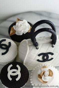 Chanel Mini Handbag and Cupcakes by Temeraire, via Flickr