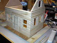 *Life in Miniature*: Build Your Own Log Cabin, Puppenhaus Blockhaus