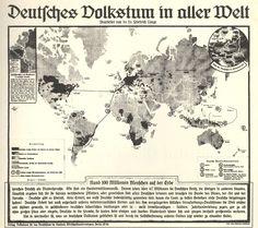 Verteilung deutscher Siedler, 1938