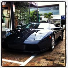 Feel the need for speed! #love this black #Lamborghini... very #fast #car V12 http://www.facebook.com/BillDoyleOnline