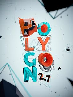 """POLYGON 2.7"" by Emily Lokta on Typography Served."