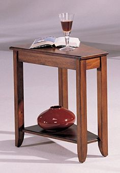 Hammary Wedge Side Table >>> You can find more details by visiting the image link. (This is an affiliate link) #KitchenTableIdeas