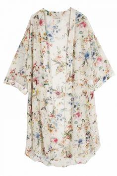 Bershka Long Floral Kimono, £14.99
