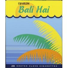 Djarum Bali Hai is made of natural Indonesian spices and tobaccos, with an exotic taste. It gives you a breezily warm, sweet sensation for your smoking pleasure. Djarum Bali Hai was initially introduced in 1997. It was created for nature and adventure-loving kretek devotees. Djarum Bali Hai is now available in Japan and Australia. 1 carton contains 10 packs. 1 pack contains 20 cigarettes. Black Cigarettes, Bali, Awesome Stuff, Smoking, Exotic, Spices, Australia, Japan, Adventure
