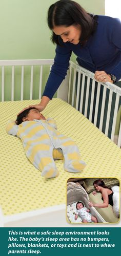Half of U.S infants are unsafe when they sleep.