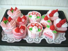 フェルトのケーキでおままごと★   ににこ日記 - 楽天ブログ
