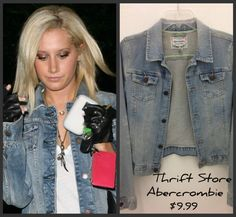 Abercrombie Distressed Denim Jacket for $9.99 @ Goodwill