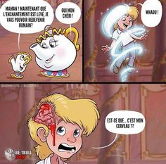 La Belle et la Bête version réaliste... - Be-troll - vidéos humour, actualité insolite