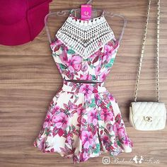 #mulpix • INSPIRAÇÃO • Conjunto Cropped e Shorts 💟  #tendência  #look  #inspiracao  #moda  #fashion  #verao  #conjunto  #cropped  #shorts
