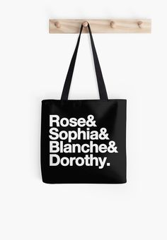 Items similar to Shopping is My Therapy Black Tote Bag, Quote Tote Bag on Etsy Best Friend Gifts, Best Friends, Birthday Gifts For Her, Golden Girls, Black Tote Bag, Online Printing, Digital Prints, Tv Shows, Reusable Tote Bags