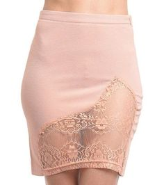 Cute Lace Stretch Pencil Skirt Fashion Lace Skirt Trendy Skirts