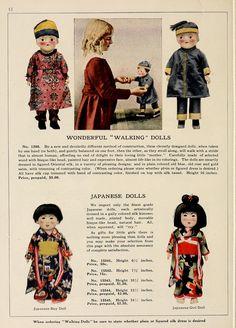 "Wonderful ""Walking"" Dolls & Japanese Dolls from Vantines 1919 catalog | Flickr - Photo Sharing!"