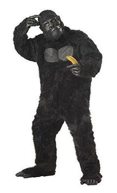 Mememall Fashion Gorilla King Kong Men Suit Adult Halloween Costume >>> Click image for more details. Animal Costumes For Adults, Adult Costumes, Trendy Halloween, Cool Halloween Costumes, Adult Halloween, Halloween Decorations, Halloween Ideas, Gorilla Costumes, Gorilla Suit