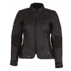 Kurtka MODEKA BLACK STAR LADY czarna damska | MODEKA BLACK STAR LADY Leather Jacket #Motomoda24