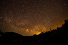 Biginner's tios for night sky and star photography