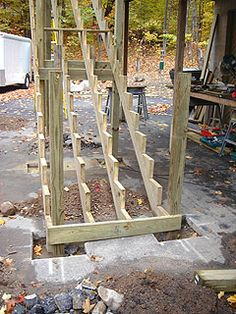 Best Long Stair Stringers May Need Extra Support From 400 x 300