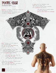 Yggdrasil Tattoo Poetic Edda