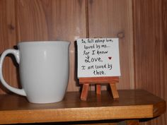 Mini canvas painting   Love the quote by Robert Browning