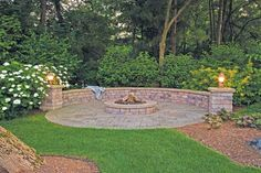 Idea for a fire pit