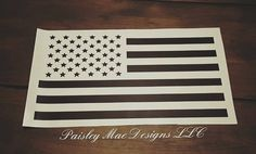 American Flag Decal by PaisleyMaeDesignsLLC on Etsy