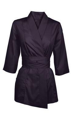 Details about beauty therapist salon slash massage uniform for Uniform spa therapist