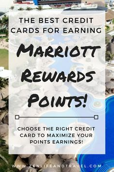 Want to earn tons of Marriott points for FREE travel? Here's my guide to choosing the best credit card to earn Marriott points.