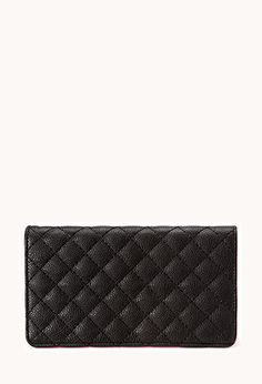 Iconic Quilted Wallet | FOREVER21 - 1000128860