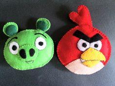Angry Bird Felt Craft