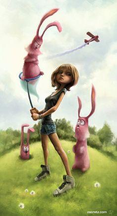 Cool Character Design by Zac Retz