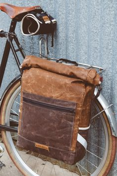 Anhaica Bag Works Convertible Backpack Pannier.