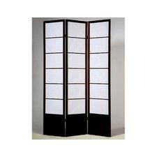 "70"" x 54"" 3 Panel Room Divider"