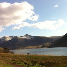 Crummock Water, Scale Force and Snow covered Red Pike