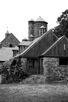 Stone Barns. Made even better by the fact that it's photgraphed in black and white.