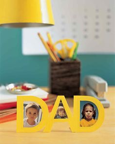 """DAD"" Frame Template 