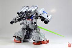 RX-78GP02A Gundam Physalis Clean Build and Lining by Shizuren! - SHIZUREN MODKIT