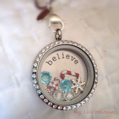 I'm a believer!  Origami Owl locket for the holiday season!  Contact Kristin Spurlock ID# 29222 spurlockets@gmail.com