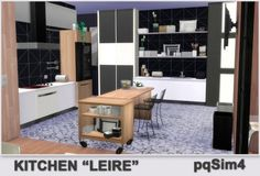 "PQSims4: Kitchen ""Leire"" • Sims 4 Downloads"