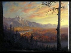 Paint with Kevin Hill - Autumn Valley River - YouTube