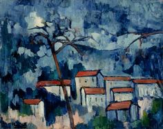 Maurice de Vlaminck (French; Post-Impressionism, Fauvism, 1876–1958): The Seine at Chatou, 1906. - Google Search