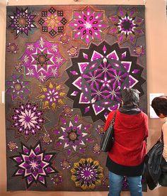 Pinwheels, Tokyo Quilt Festival | #quilt