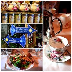 Stop by Queen Mary's Tea Room in Seattle if you want to feel like your in England. http://queenmarytea.com